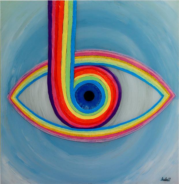 Oko v duze